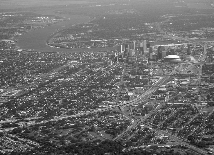 NOLA Aerial | New Orleans, LA (Pre-Katrina)