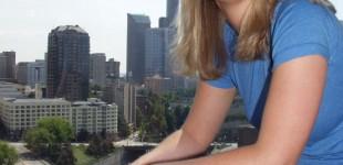 Amanda | Overlooking Seattle from KMTT Studios