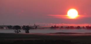 Sunrise over Pine Ridge | South Dakota