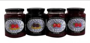 Danish Orchards Preserves, 14oz